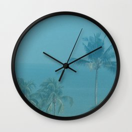 high by the beach Wall Clock