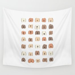pubic hair style Art - Feminist Art Wall Tapestry