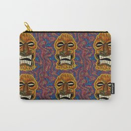 Angry god Tiki Carry-All Pouch