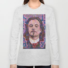 Portrait Of Alfred Jarry Long Sleeve T-shirt