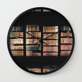 Compendium Wall Clock