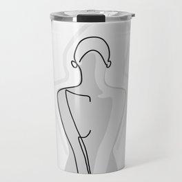 Shy Girl Travel Mug