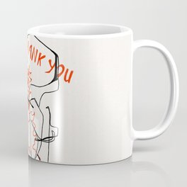 Chinese Food Takeout - Contour Line Drawing Coffee Mug