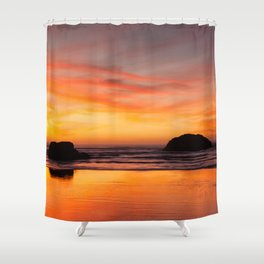 Nature's Painting Shower Curtain