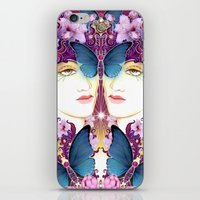 nouveau iPhone & iPod Skins featuring Nouveau by Kundalini Arts