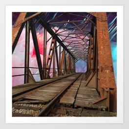 Bridge To Another World Art Print
