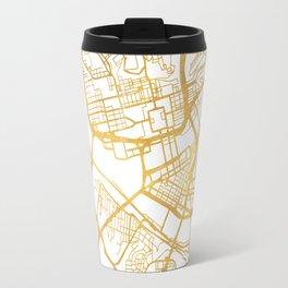PITTSBURGH PENNSYLVANIA CITY STREET MAP ART Travel Mug