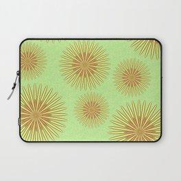 Summer flowers - Green Laptop Sleeve