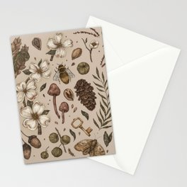 Nature Walks (Light Background) Stationery Cards