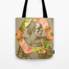 Botanical Samurai Tote Bag
