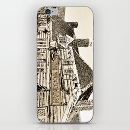 The Woodman Pub Art iPhone Skin