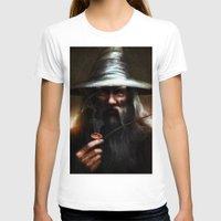 gandalf T-shirts featuring Gandalf the Grey by Fabio Leone