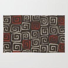 Aztec pattern Rug