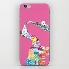 Pink-Camel iPhone & iPod Skin