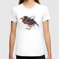 tapestry T-shirts featuring Tapestry Rook by Nick Sadek Illustration