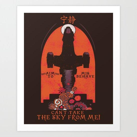 Browncoat Propaganda Art Print