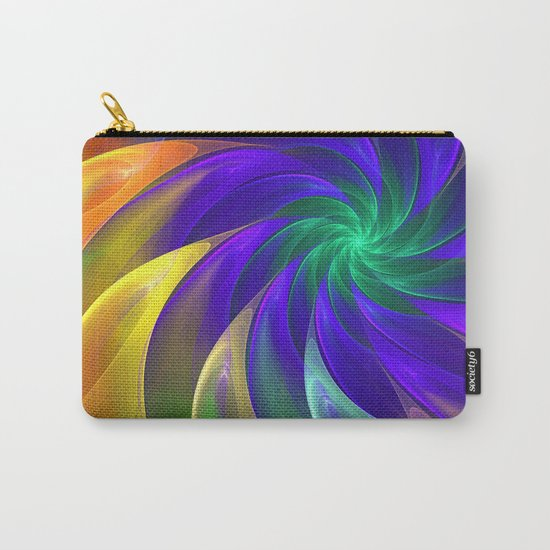Abstract Color Swing Carry-All Pouch
