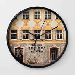 Mozart Residence  Wall Clock