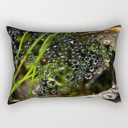 The eyes of the grass Rectangular Pillow