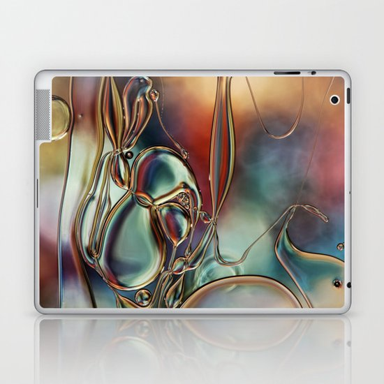 Rainbow Tangle Laptop & iPad Skin