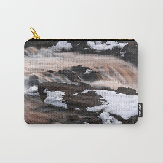 Ruby Winter Falls Carry-All Pouch