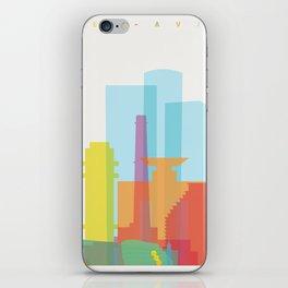 Shapes of Tel Aviv iPhone Skin