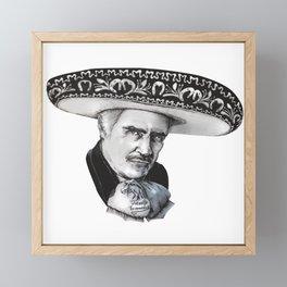 "Vicente ""Chente"" Fernandez Gomez Framed Mini Art Print"