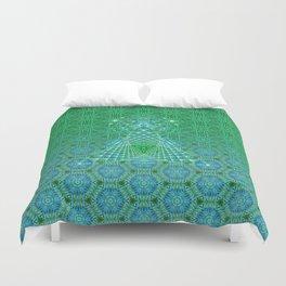 Lifeforms | Sacred geometry Duvet Cover