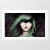 Superblind Art Print