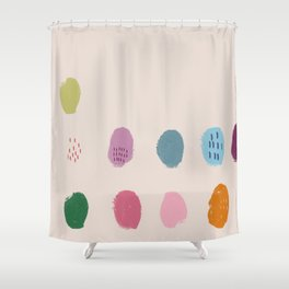 Thumbprint Shower Curtain