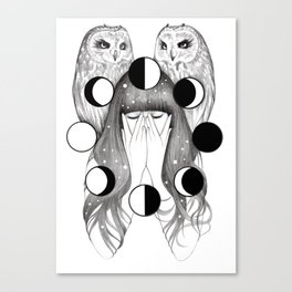 Moon Spells Canvas Print