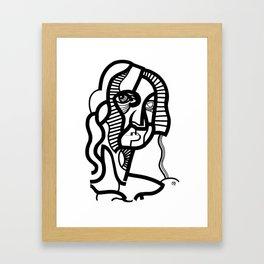 Black Ink, 2 Framed Art Print