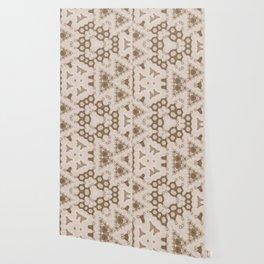 Vintage delicate tree pattern Wallpaper