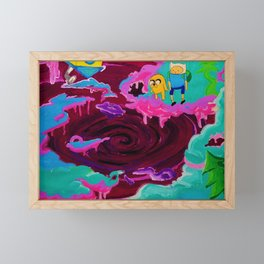 Lumpy Space Void  Framed Mini Art Print