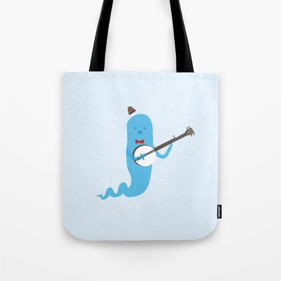 Ghost and Banjo Tote Bag