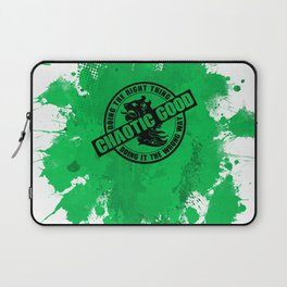 Chaotic Good RPG Game Alignment Laptop Sleeve