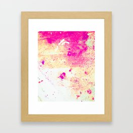 Decent Bleeding Framed Art Print