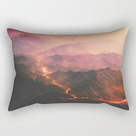 Volcano active Rectangular Pillow