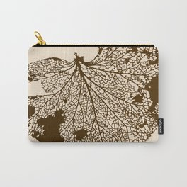 Leaf Skeleton Carry-All Pouch