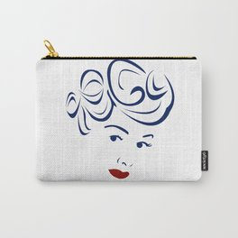 Lucy - Hairography (Lucille Ball) (I Love Lucy) Carry-All Pouch