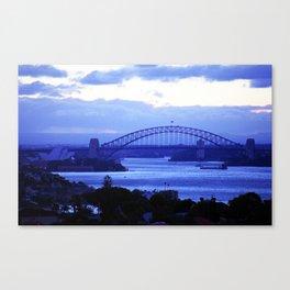 Sydney Oprah House & Bridge, NSW, Australia Canvas Print