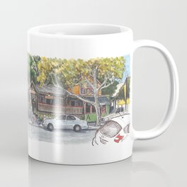 2nd st / orange court, davis panorama Coffee Mug