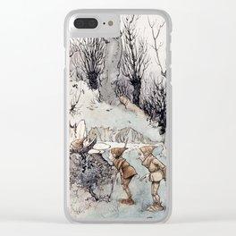 Elves by Arthur Rackham Clear iPhone Case