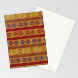Vibrant Boho Kilim Stationery Cards