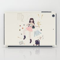virgo iPad Cases featuring Virgo by LordofMasks
