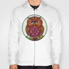 Wise Owl Stare Hoody
