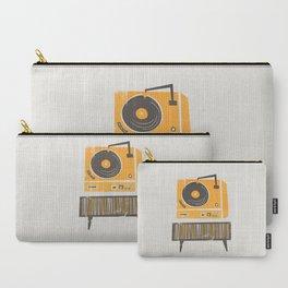 Vinyl Deck Carry-All Pouch