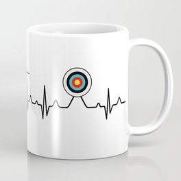 Archery heartbeat Coffee Mug