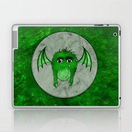 Little Monster Illustration Monster with Wings Green monster SBDesigns Laptop & iPad Skin