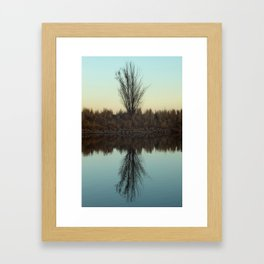 Wonderland Reflection Framed Art Print